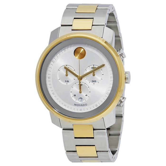 Movado Bold Quartz Two-Tone Stainless Steel Watch 3600432