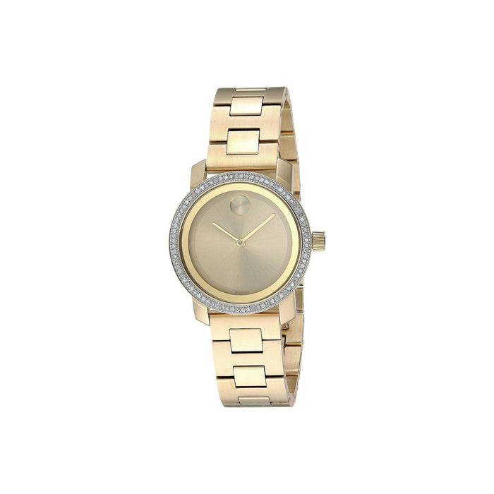 Movado Bold Quartz Gold-Tone Stainless Steel Watch 3600440