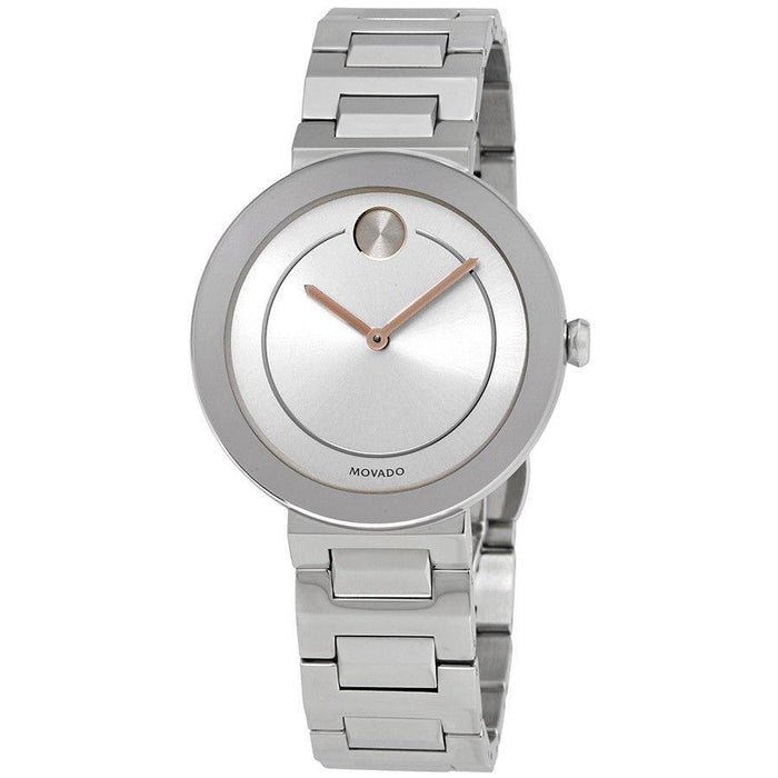 Movado Bold Quartz Stainless Steel Watch 3600497