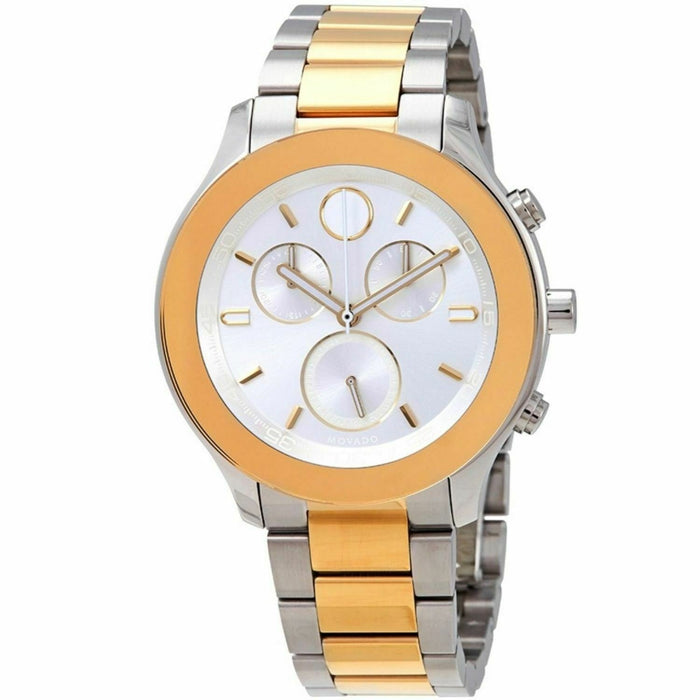 Movado Bold Quartz Chronograph Gold-Tone Stainless Steel Watch 3600546
