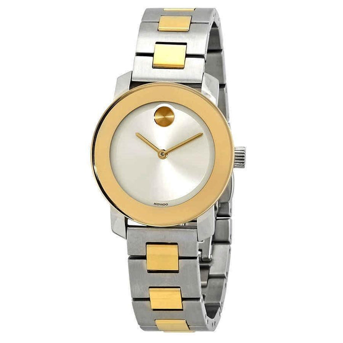 Movado Bold Quartz Two-Tone Stainless Steel Watch 3600551
