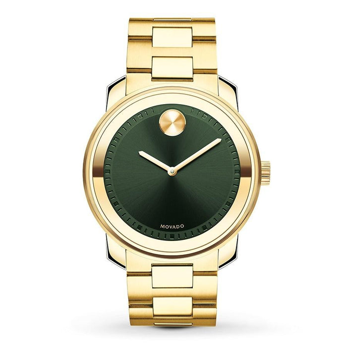 Movado Bold Quartz Gold-Tone Stainless Steel Watch 3600582