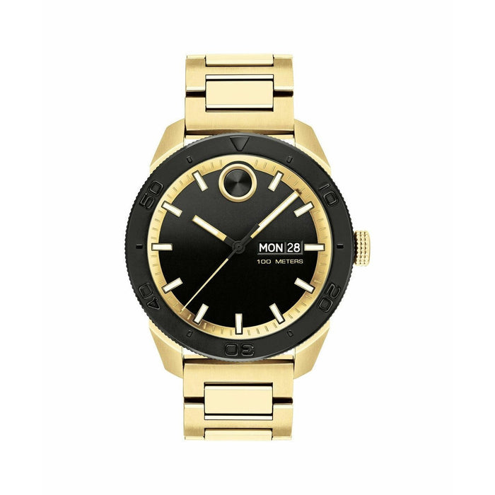 Movado Bold Quartz Gold-Tone Stainless Steel Watch 3600605
