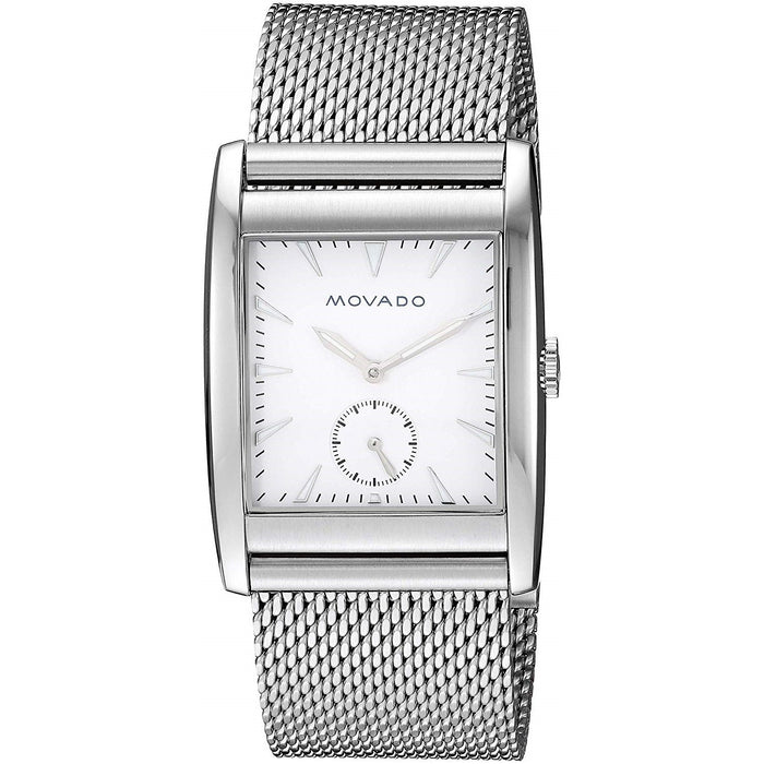 Movado Heritage Quartz Stainless Steel Watch 3650044