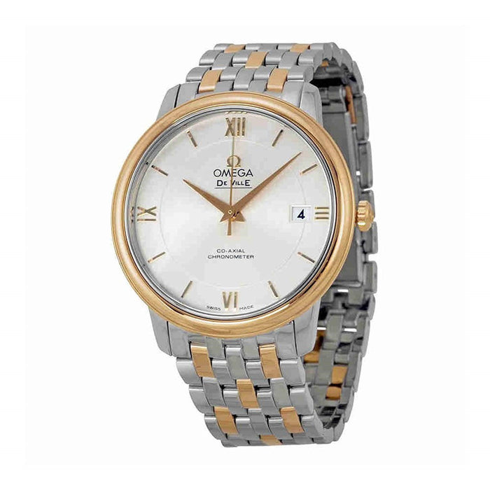 Omega De Ville Prestige Co-Axial Automatic Two-Tone Stainless Steel Watch 424.20.37.20.02.002