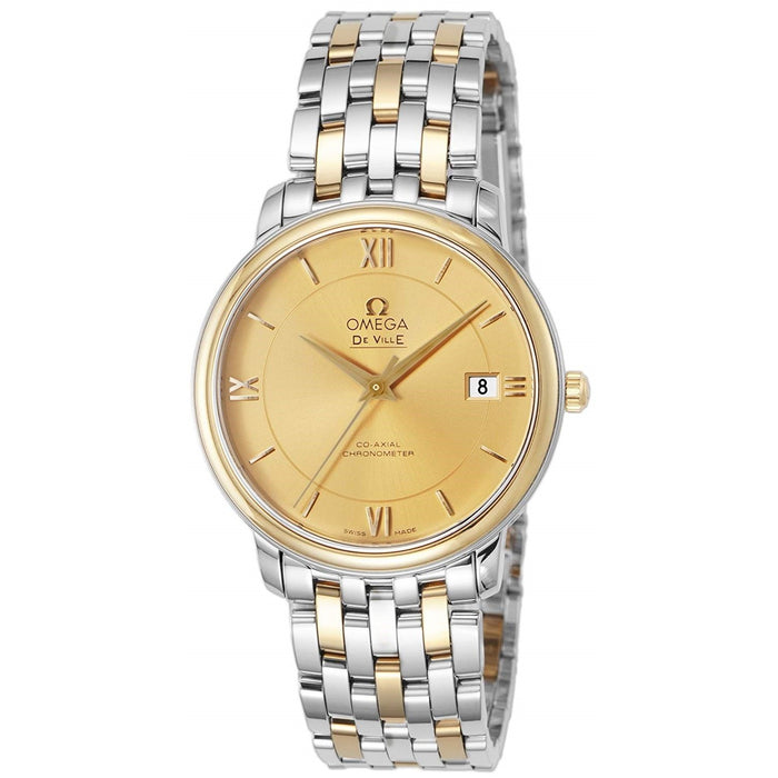 Omega De Ville Prestige Co-Axial Automatic Two-Tone Stainless Steel Watch 424.20.37.20.08.001