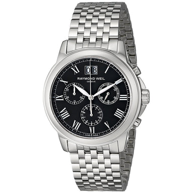 Raymond Weil Tradition Quartz Chronograph Stainless Steel Watch 4476-ST-00200