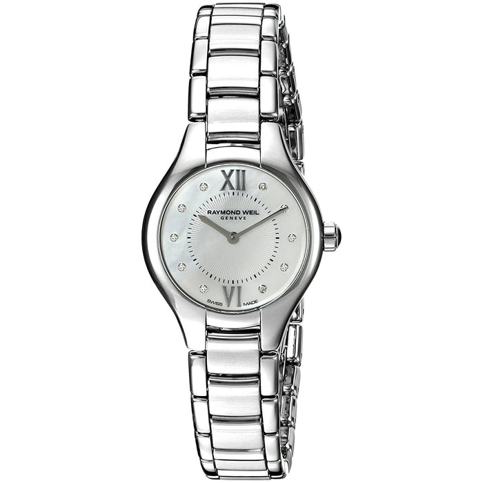 Raymond Weil Noemia Quartz Diamond Stainless Steel Watch 5124-ST-00985