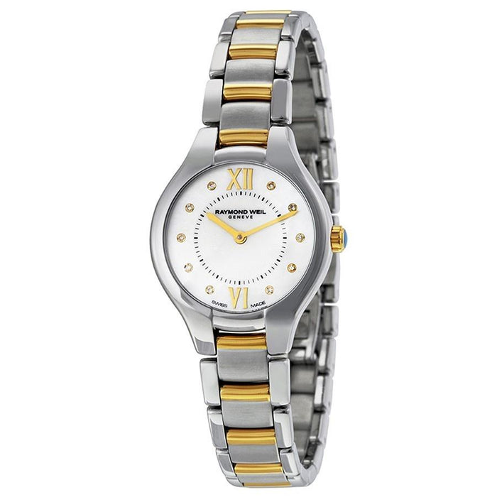 Raymond Weil Noemia Quartz Diamond Two-Tone Stainless Steel Watch 5127-STP-00985