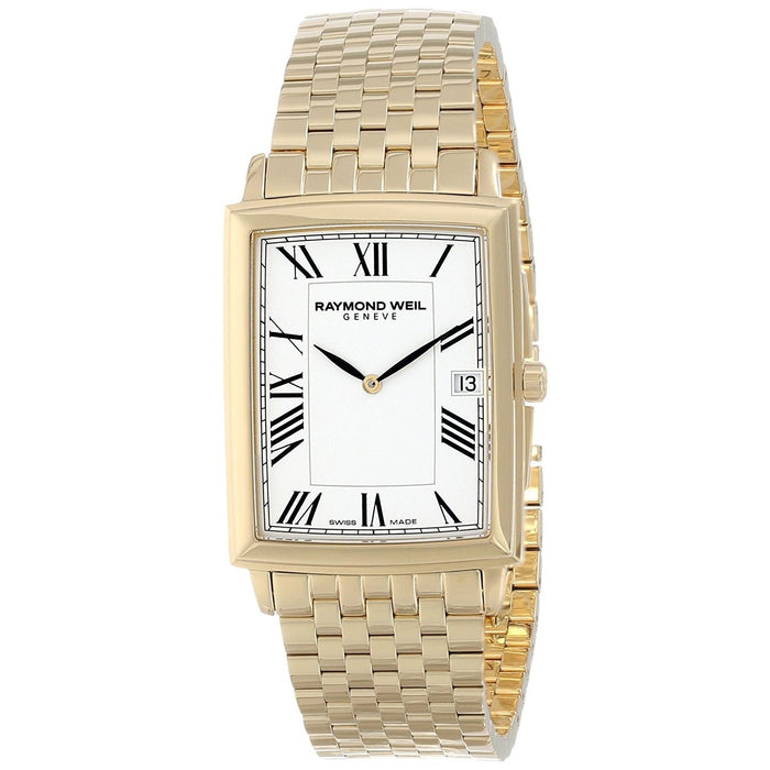 Raymond Weil Tradition Quartz Gold-Tone Stainless Steel Watch 5456-P-00300