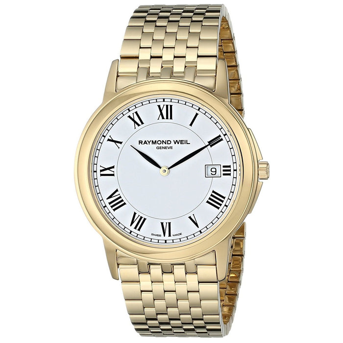 Raymond Weil Tradition Quartz Gold-Tone Stainless Steel Watch 5466-P-00300