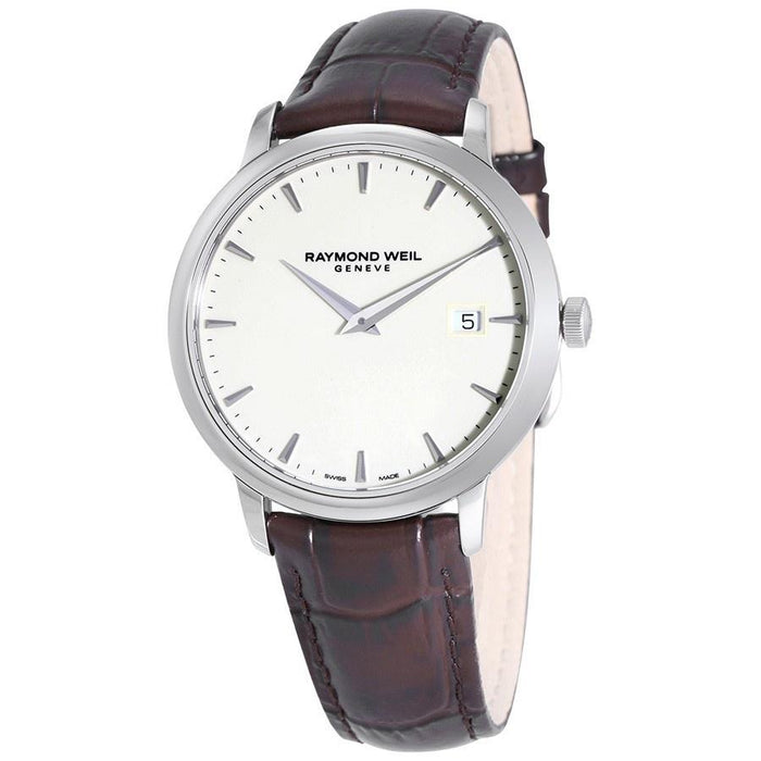 Raymond Weil Tradition Quartz Brown Leather Watch 5488-STC-40001