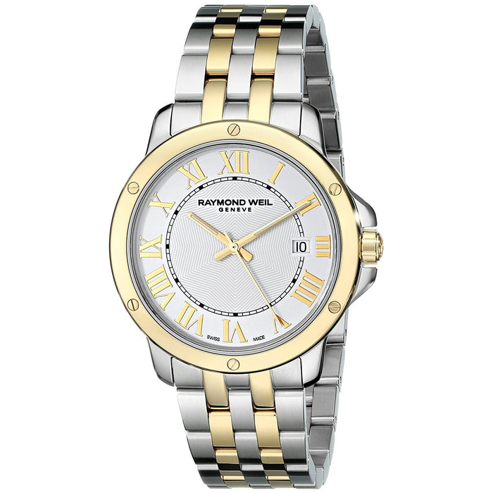 Raymond Weil Tango Quartz Two-Tone Stainless Steel Watch 5591-STP-00308