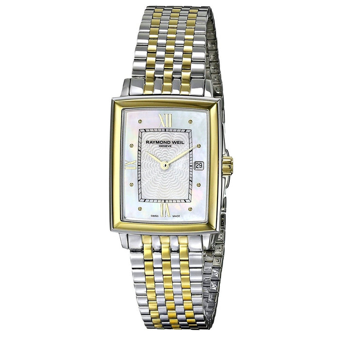 Raymond Weil Tradition Quartz Two-Tone Stainless Steel Watch 5956-STP-00915