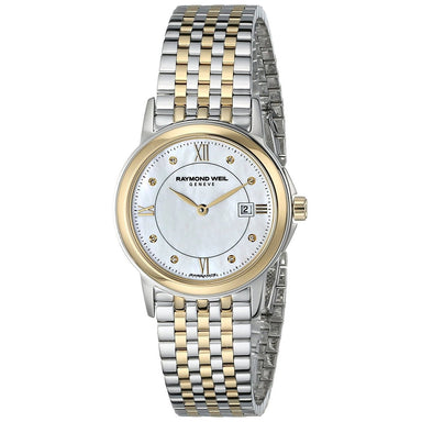 Raymond Weil Tradition Quartz Diamond Two-Tone Stainless Steel Watch 5966-STP-00995