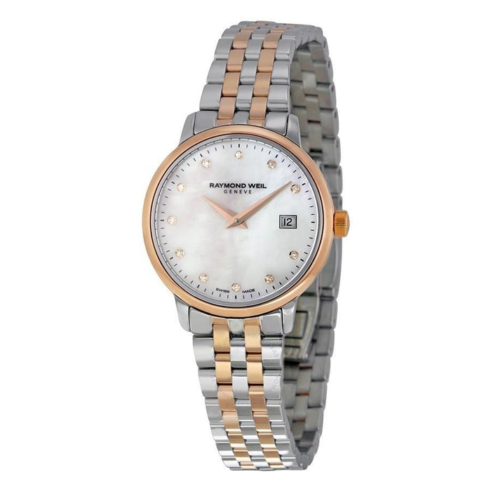 Raymond Weil Toccata Quartz Diamond Two-Tone Stainless Steel Watch 5988-SP5-97081