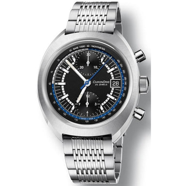 Oris Chronoris Automatic Chronograph Stainless Steel Watch 67377394084MBSET