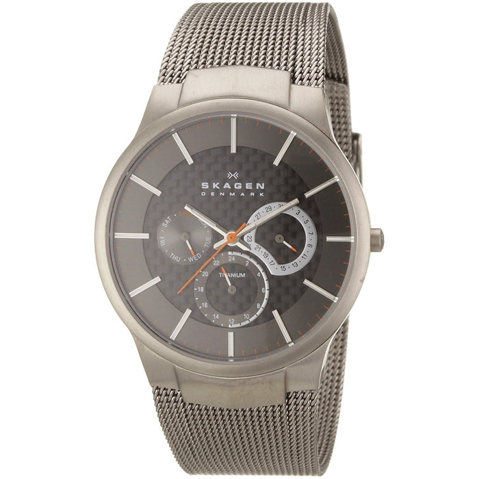 Skagen  Quartz Multi-Function Grey Titanium Watch 809XLTTM