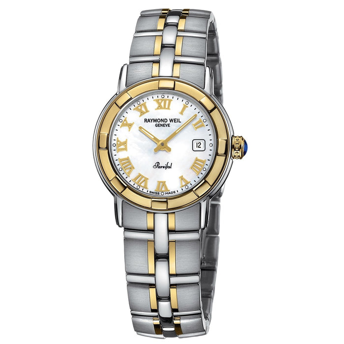 Raymond Weil Parsifal Quartz Two-Tone Stainless Steel Watch 9440-STG-00308