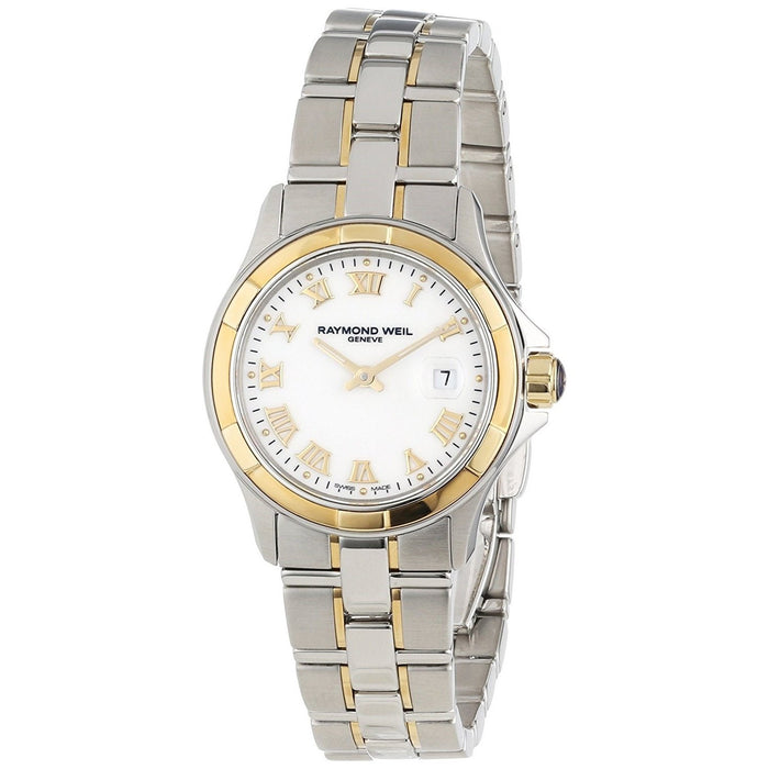 Raymond Weil Parsifal Quartz Two-Tone Stainless Steel Watch 9460-SG-00308