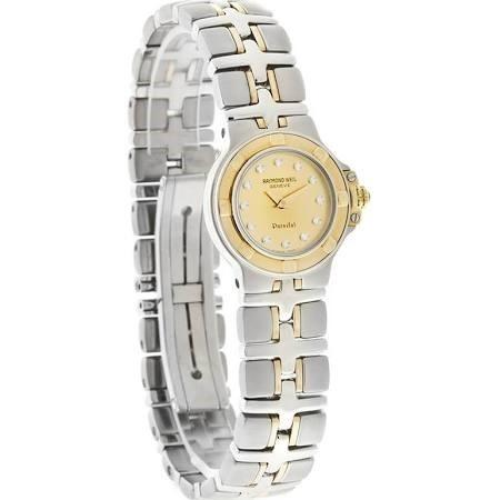 Raymond Weil Parsifal Quartz Diamond Two-Tone Stainless Steel Watch 9690D-CH