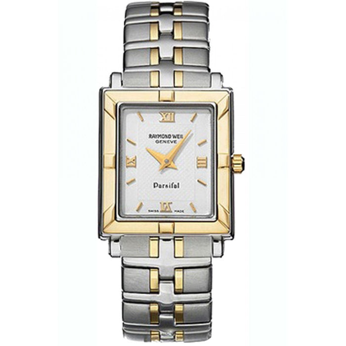 Raymond Weil Parsifal Quartz Two-Tone Stainless Steel Watch 9730-STG-00307