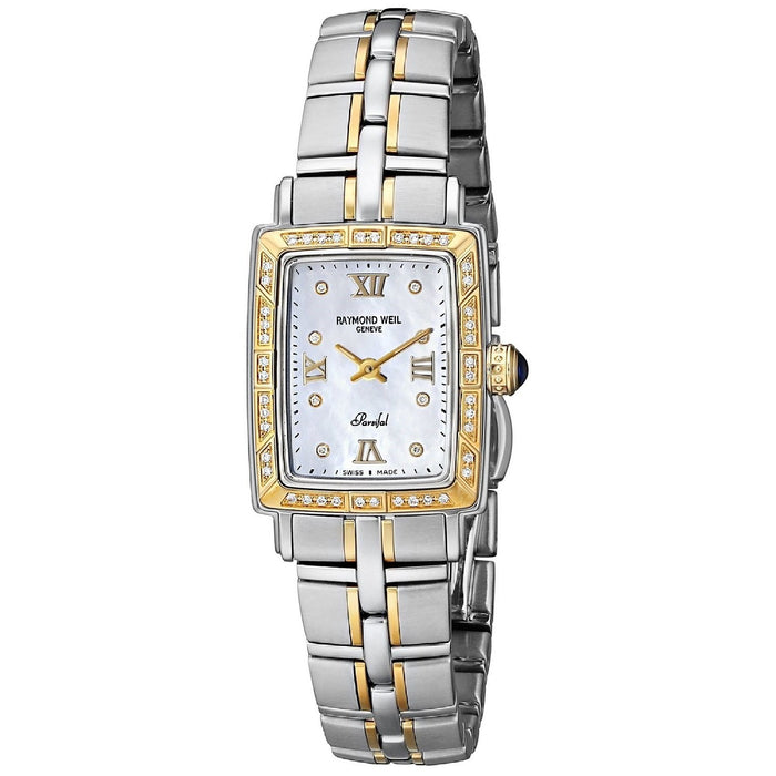 Raymond Weil Parsifal Quartz Diamond Two-Tone Stainless Steel Watch 9740-STS-00995