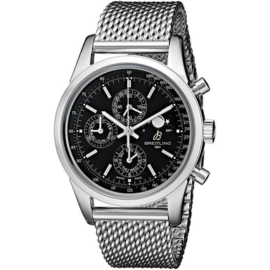 Breitling Transocean 1461 Automatic Automatic Chronograph Stainless Steel Watch A1931012-BB68