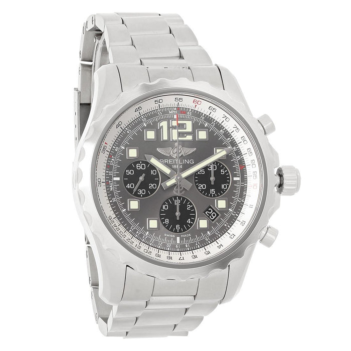 Breitling Chronospace Automatic Chronograph Stainless Steel Watch A2336035-F555-167A