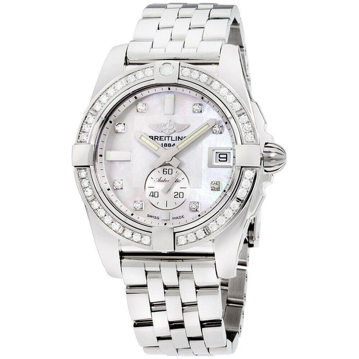 Breitling Galactic Automatic Stainless Steel Watch A3733053-A717-376A