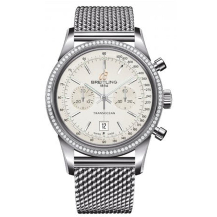 Breitling Transocean Automatic Chronograph Automatic Stainless Steel Watch A4131053-G757