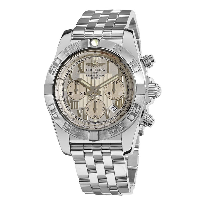 Breitling Chronomat 44 Automatic Chronograph Automatic Stainless Steel Watch AB011011-G676