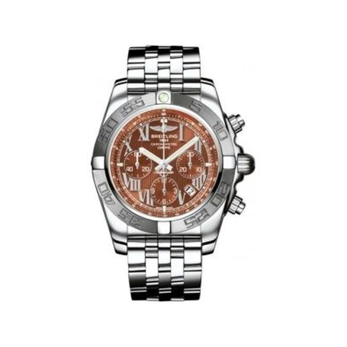 Breitling Chronomat 44 Automatic Chronograph Automatic Stainless Steel Watch AB011011-Q566