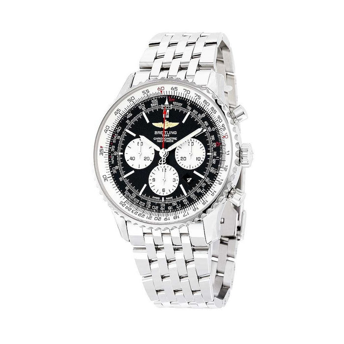Breitling Navitimer 1 Automatic Chronograph Stainless Steel Watch AB012721.BD09.443A