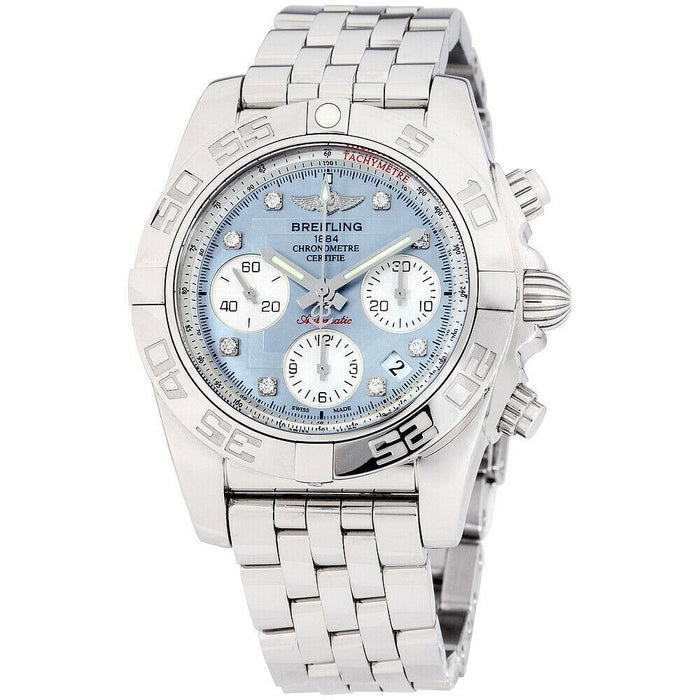 Breitling Chronomat Automatic Chronograph Stainless Steel Watch AB014012-G712-378A