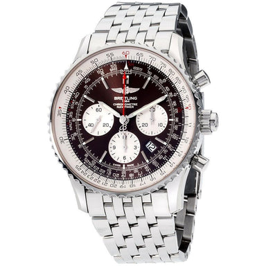 Breitling Navitimer 1 Automatic Chronograph Stainless Steel Watch AB031021-Q615-453A