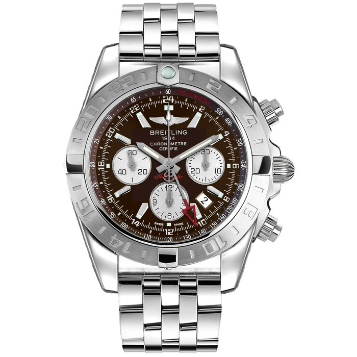 Breitling Chronomat Automatic Automatic Chronograph Stainless Steel Watch AB042011-Q589