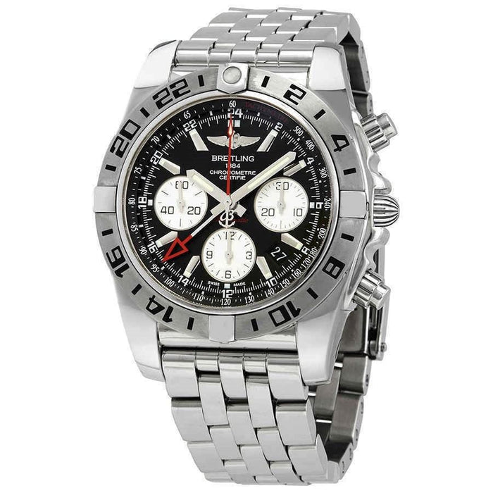 Breitling Chronomat 44 Automatic Chronograph Stainless Steel Watch AB0420B9-BB56-375A