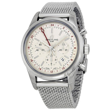 Breitling TransOcean Automatic Automatic Chronograph Stainless Steel Watch AB045112-G772
