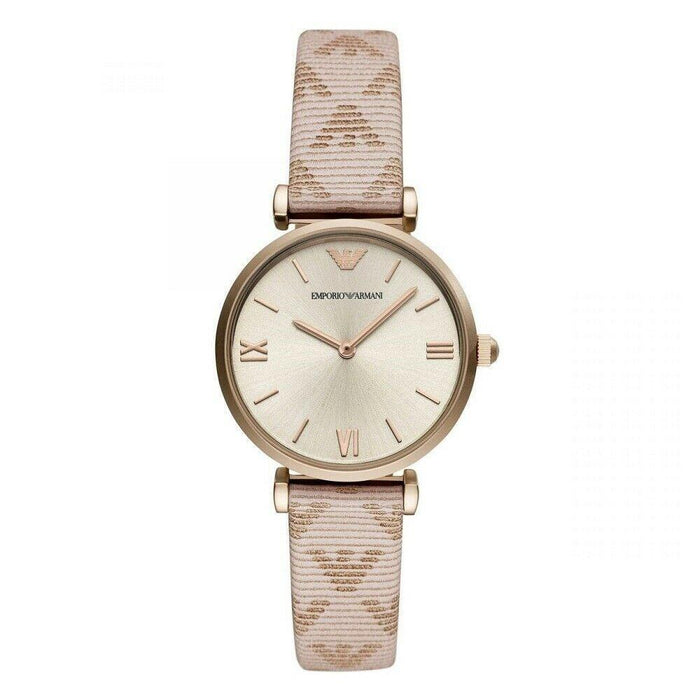 Emporio Armani Women's AR11126 Classic Pink Leather Watch