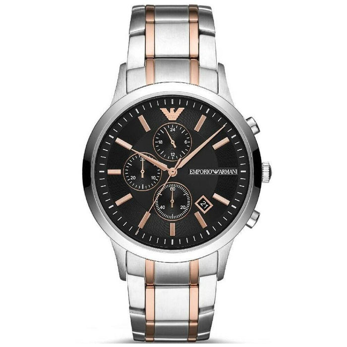 Emporio Armani Men's AR11165 Renato Chronograph Two-Tone Stainless Steel Watch