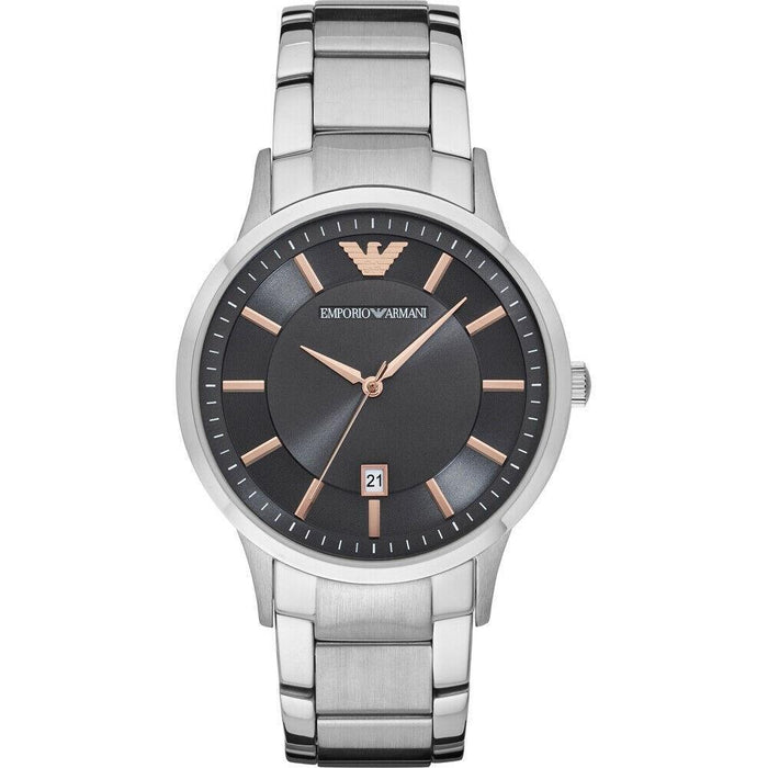 Emporio Armani Men's AR11179 Renato Stainless Steel Watch