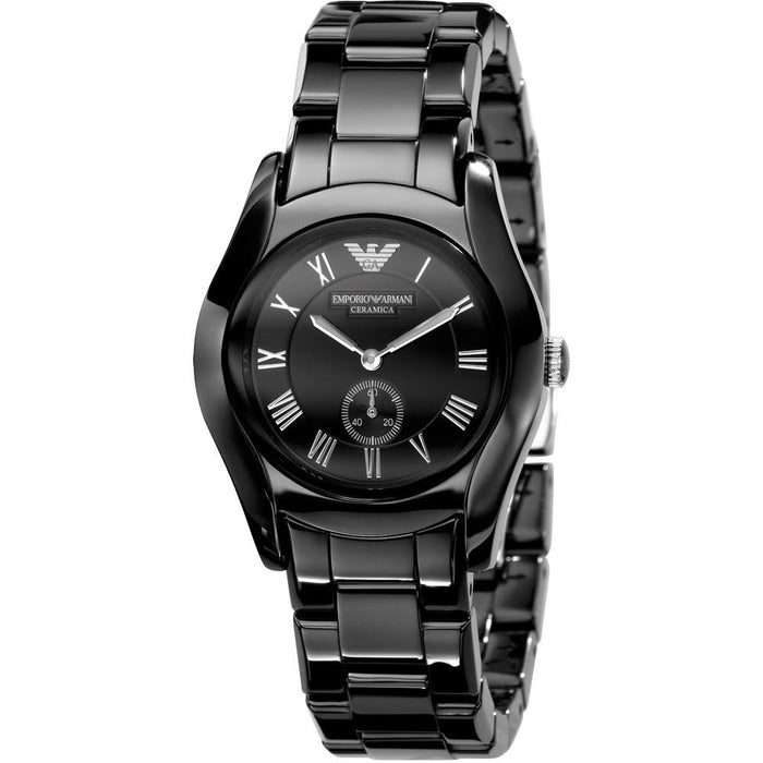 Emporio Armani Women's AR1402 Black Ceramic Watch