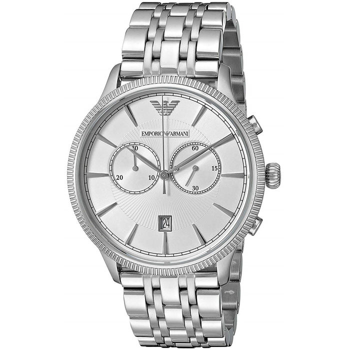 Emporio Armani Men's AR1796 Classic Chronograph Stainless Steel Watch