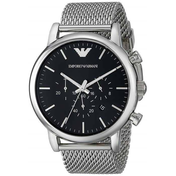 Emporio Armani Men's AR1808 Classic Chronograph Stainless Steel Watch