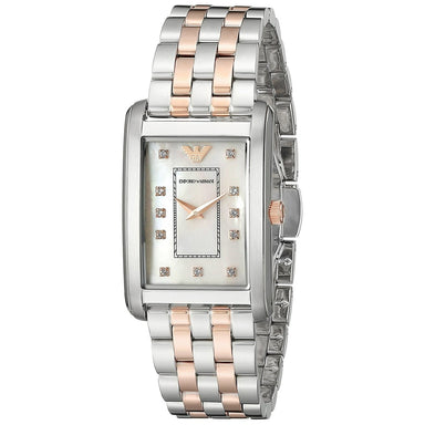 Emporio Armani Women's AR1905 Classic Crystal Two-Tone Stainless Steel Watch