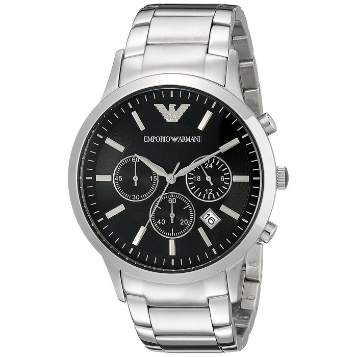 Emporio Armani Men's AR2434 Classic Chronograph Stainless Steel Watch