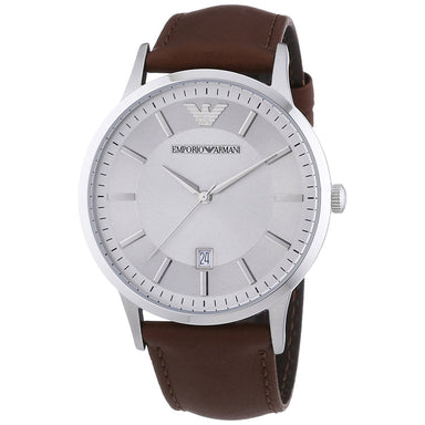 Emporio Armani Men's AR2463 Brown Leather Watch
