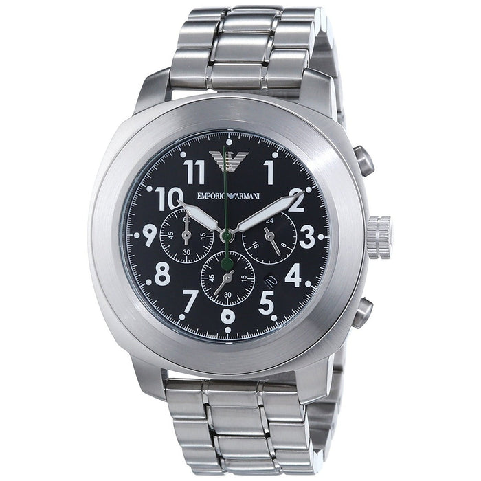 Emporio Armani Men's AR6056 Delta Chronograph Stainless Steel Watch