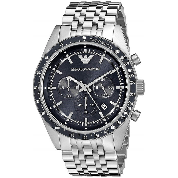 Emporio Armani Men's AR6072 Sportivo Chronograph Stainless Steel Watch